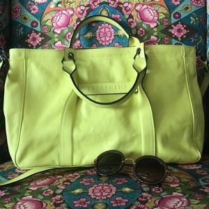 Longchamp 3D Crossover Leather Bag